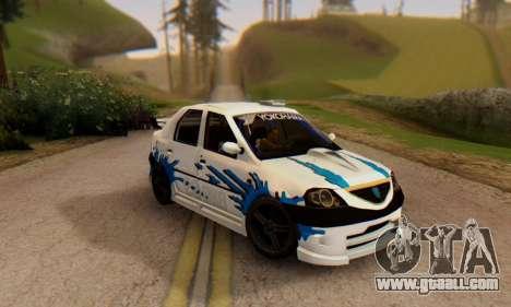 Dacia Logan Tuning for GTA San Andreas