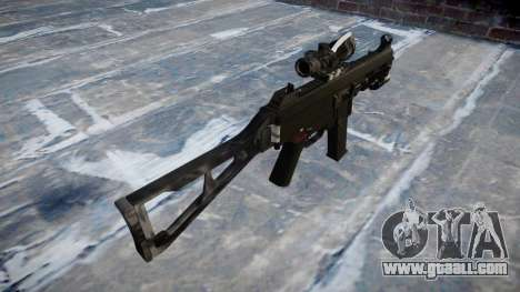 Gun UMP45 Kryptek Typhon for GTA 4 second screenshot