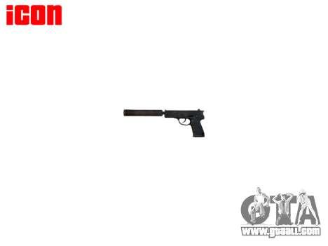 Gun QSZ-92 silencer for GTA 4 third screenshot
