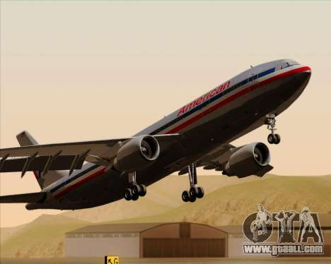 Airbus A300-600 American Airlines for GTA San Andreas