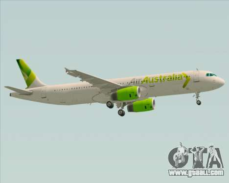 Airbus A321-200 Air Australia for GTA San Andreas inner view