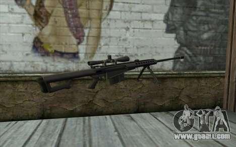 M107 for GTA San Andreas second screenshot