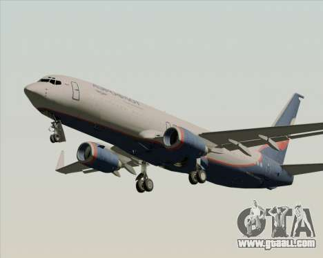 Boeing 737-8LJ Aeroflot - Russian Airlines for GTA San Andreas wheels