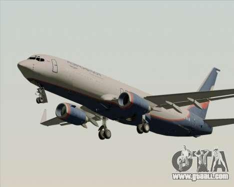 Boeing 737-8LJ Aeroflot - Russian Airlines for GTA San Andreas wheels