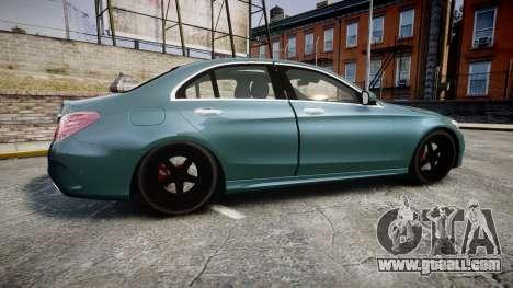 Mercedes-Benz C250 for GTA 4 left view