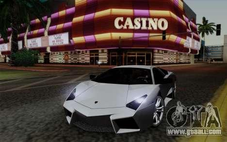 Lamborghini Reventon 2008 for GTA San Andreas
