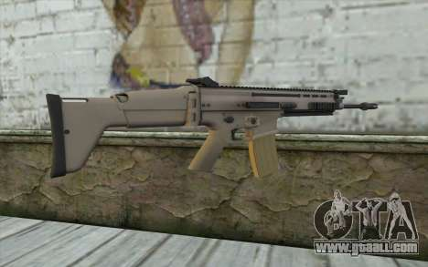 MK 16 SCAR for GTA San Andreas second screenshot