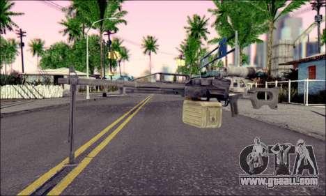 Control panel Pecheneg (ArmA 2) for GTA San Andreas