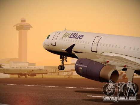 Airbus A321-232 jetBlue Do-be-do-be-blue for GTA San Andreas