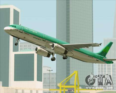 Airbus A321-200 Aer Lingus for GTA San Andreas