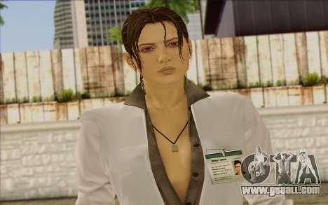 Metal Gear Solid 4 Naomi Hunter for GTA San Andreas third screenshot