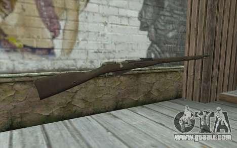 The Mosin-v2 for GTA San Andreas second screenshot