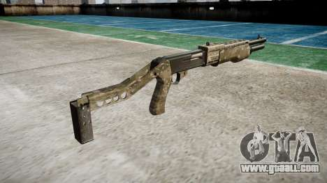 Ружье Franchi SPAS-12 DEVGRU for GTA 4 second screenshot
