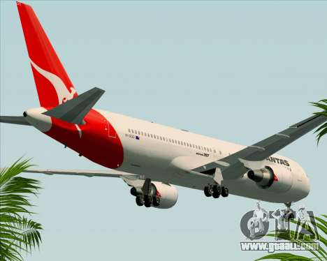 Boeing 767-300ER Qantas (Old Colors) for GTA San Andreas side view