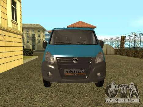GAZelle Next for GTA San Andreas right view
