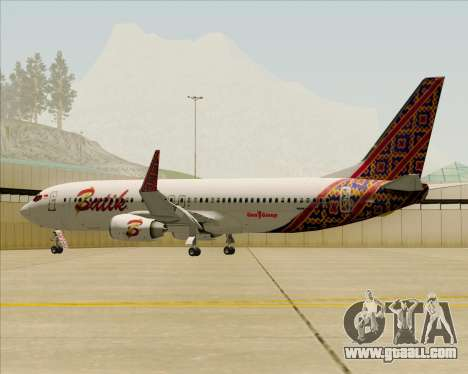 Boeing 737-800 Batik Air for GTA San Andreas engine