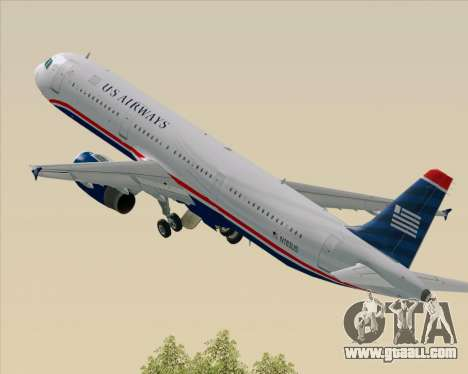 Airbus A321-200 US Airways for GTA San Andreas