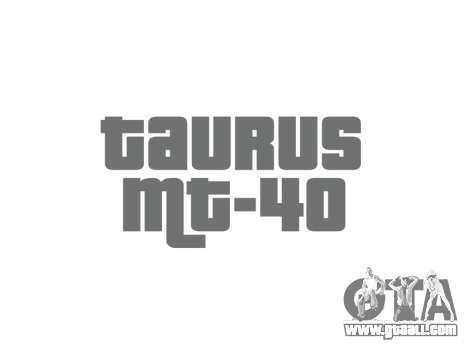 Gun Taurus MT-40 buttstock2 icon1 for GTA 4 third screenshot