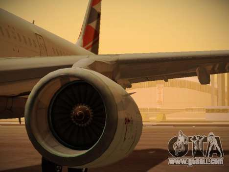 Airbus A321-232 Czech Airlines for GTA San Andreas engine