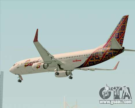 Boeing 737-800 Batik Air for GTA San Andreas interior