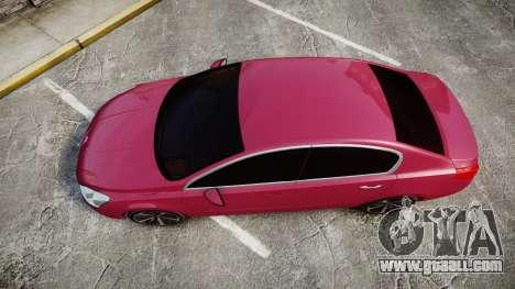 Peugeot 508 v1.2 for GTA 4 right view