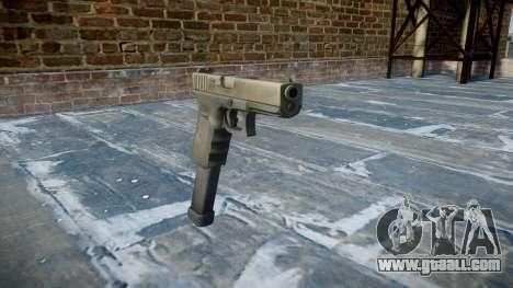 Pistol Glock 18 for GTA 4