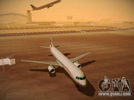 Airbus A321-232 Middle East Airlines for GTA San Andreas left view