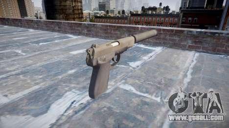 Gun QSZ-92 silencer for GTA 4 second screenshot