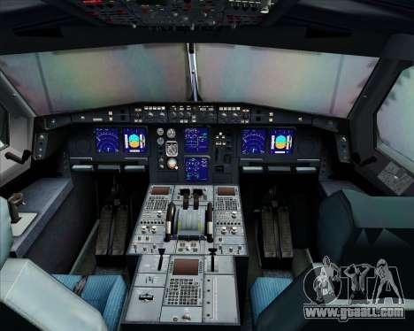 Airbus A340-300 Qantas for GTA San Andreas interior