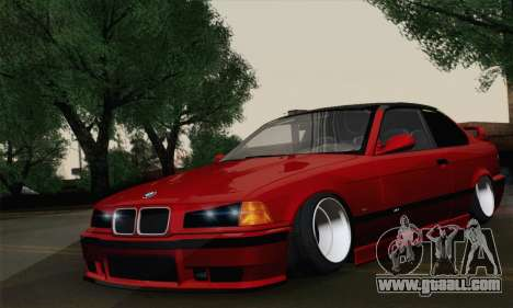 BMW M3 E36 Tuned for GTA San Andreas