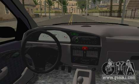 Fiat Palio EDX 1997 for GTA San Andreas back left view
