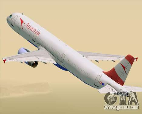 Airbus A321-200 Austrian Airlines for GTA San Andreas
