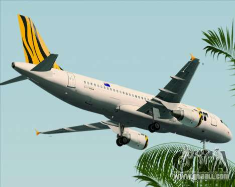 Airbus A320-200 Tigerair Australia for GTA San Andreas
