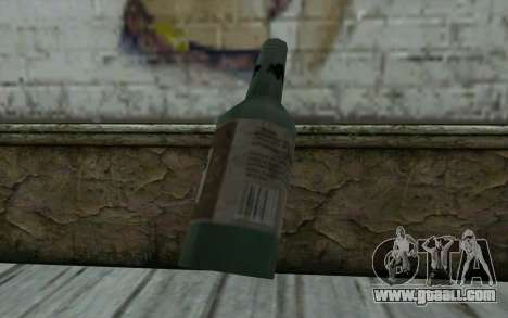 A bottle of beer for GTA San Andreas