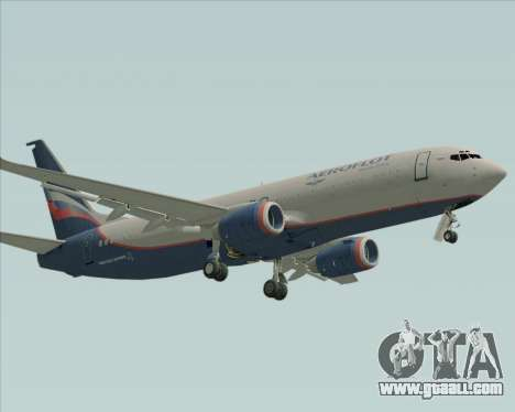 Boeing 737-8LJ Aeroflot - Russian Airlines for GTA San Andreas left view