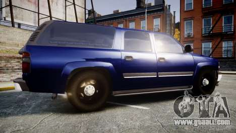 Chevrolet Suburban Undercover 2003 Grey Rims for GTA 4 left view