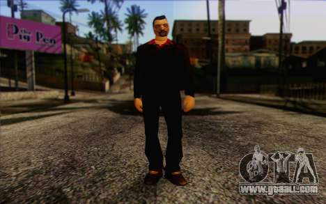 Yakuza from GTA Vice City Skin 1 for GTA San Andreas