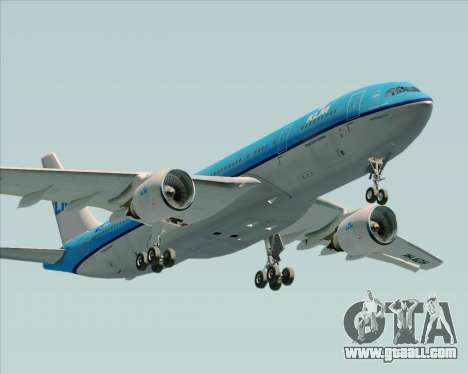 Airbus A330-200 KLM - Royal Dutch Airlines for GTA San Andreas interior