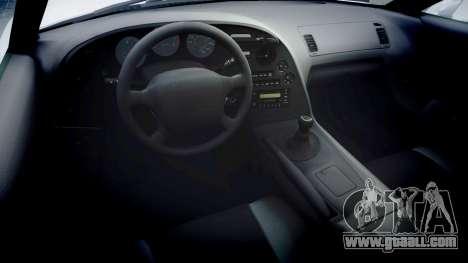 Toyota Supra for GTA 4 back view