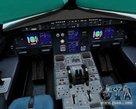 Airbus A321-200 Vietnam Airlines for GTA San Andreas interior