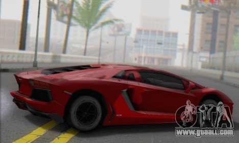 Lamborghini Avendator LP700-4 2012 for GTA San Andreas left view