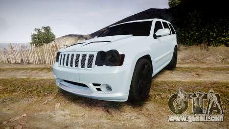 Jeep Grand Cherokee SRT8 stock for GTA 4