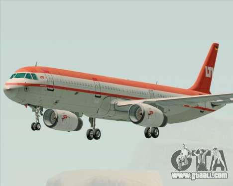 Airbus A321-200 LTU International for GTA San Andreas