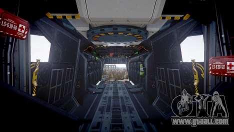 VTOL Warship PJ1 for GTA 4 back view
