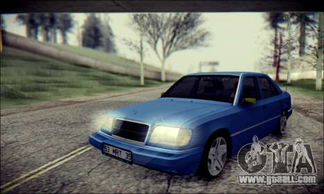 Mercedes-Benz E320 Delta Garage for GTA San Andreas left view