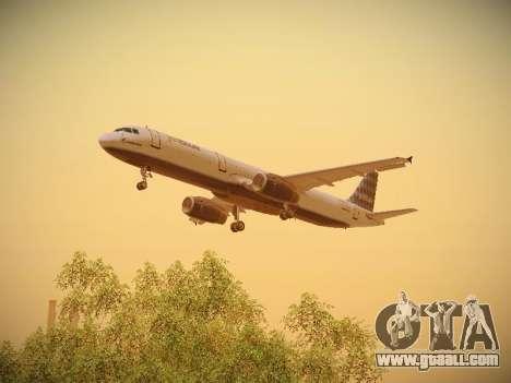 Airbus A321-232 jetBlue Airways for GTA San Andreas engine