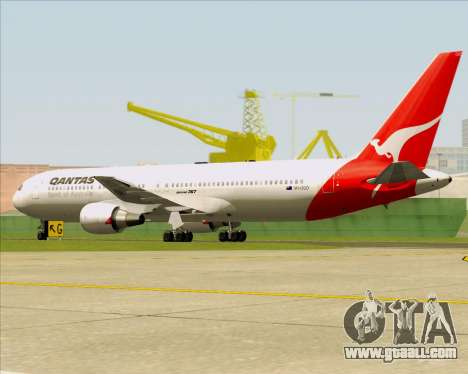 Boeing 767-300ER Qantas (Old Colors) for GTA San Andreas back view