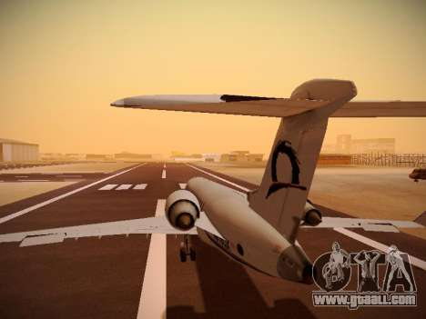 Bombardier CRJ-700 Horizon Air for GTA San Andreas interior