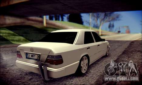 Mercedes-Benz E320 Delta Garage for GTA San Andreas back view