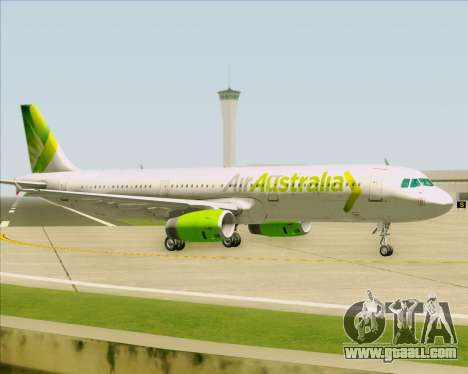 Airbus A321-200 Air Australia for GTA San Andreas back view